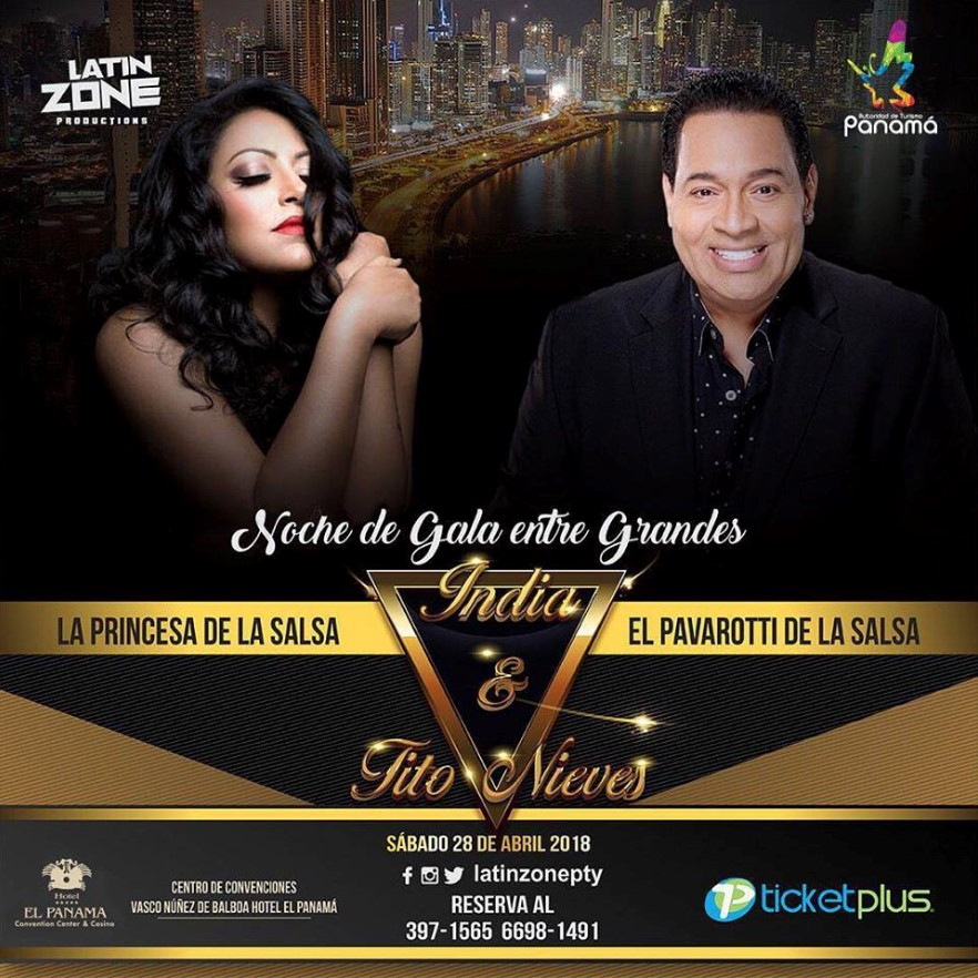 India y tito nieves sábado 28 de abril 2018