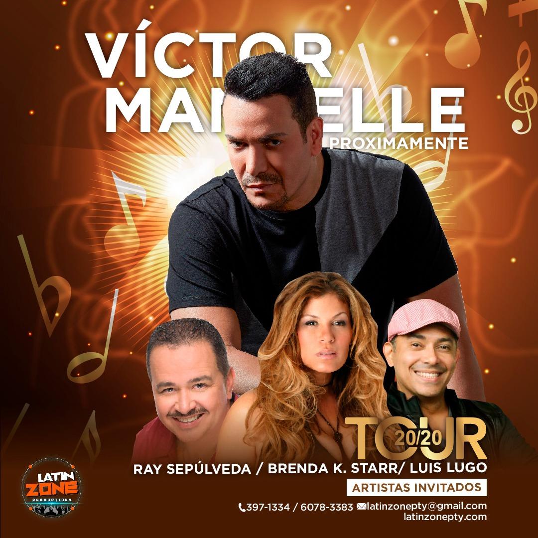 Llega Víctor Manuelle al TOUR 20/20 En Panamá Llega Víctor Manuelle al TOUR 20/20 En Panamá