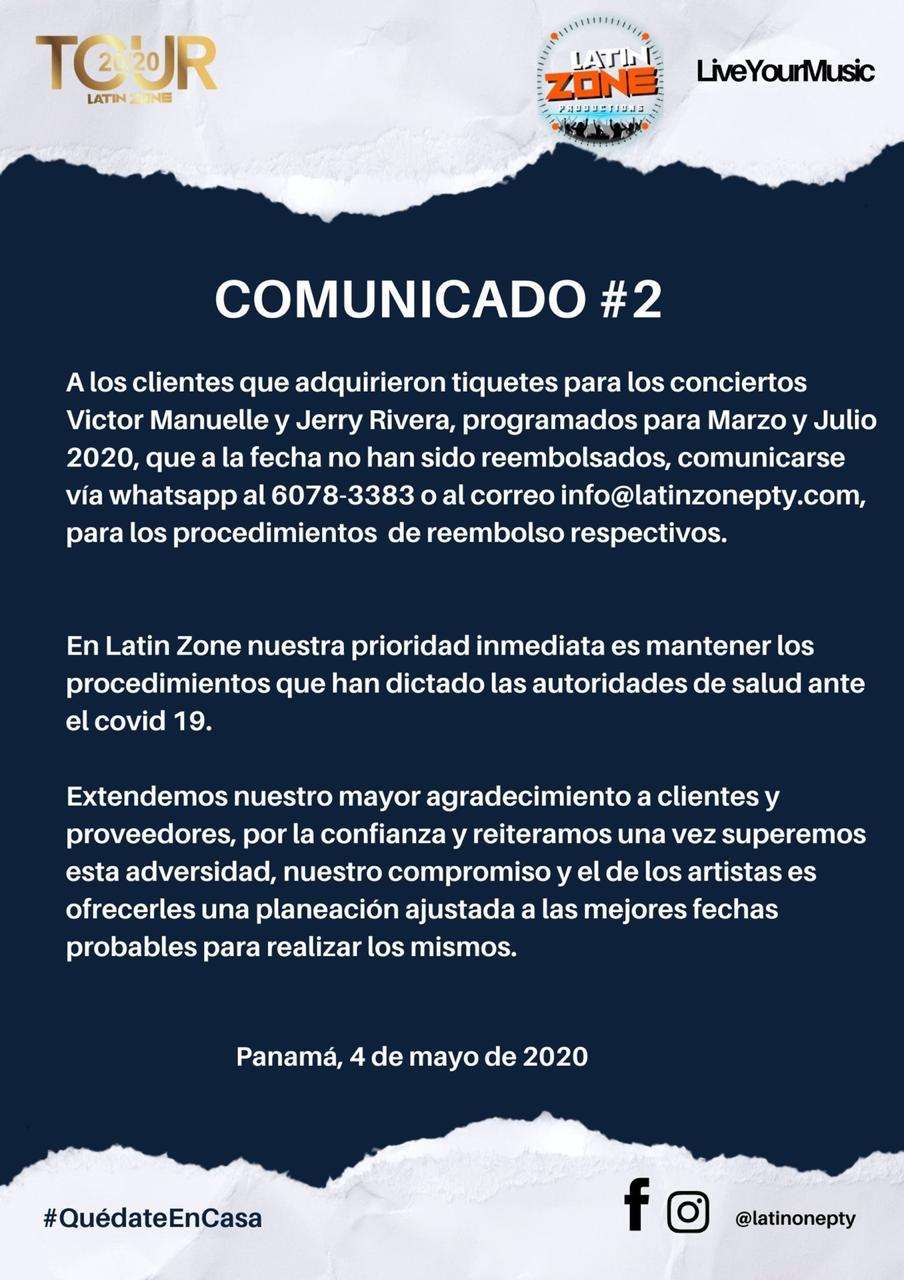 Comunicado #2