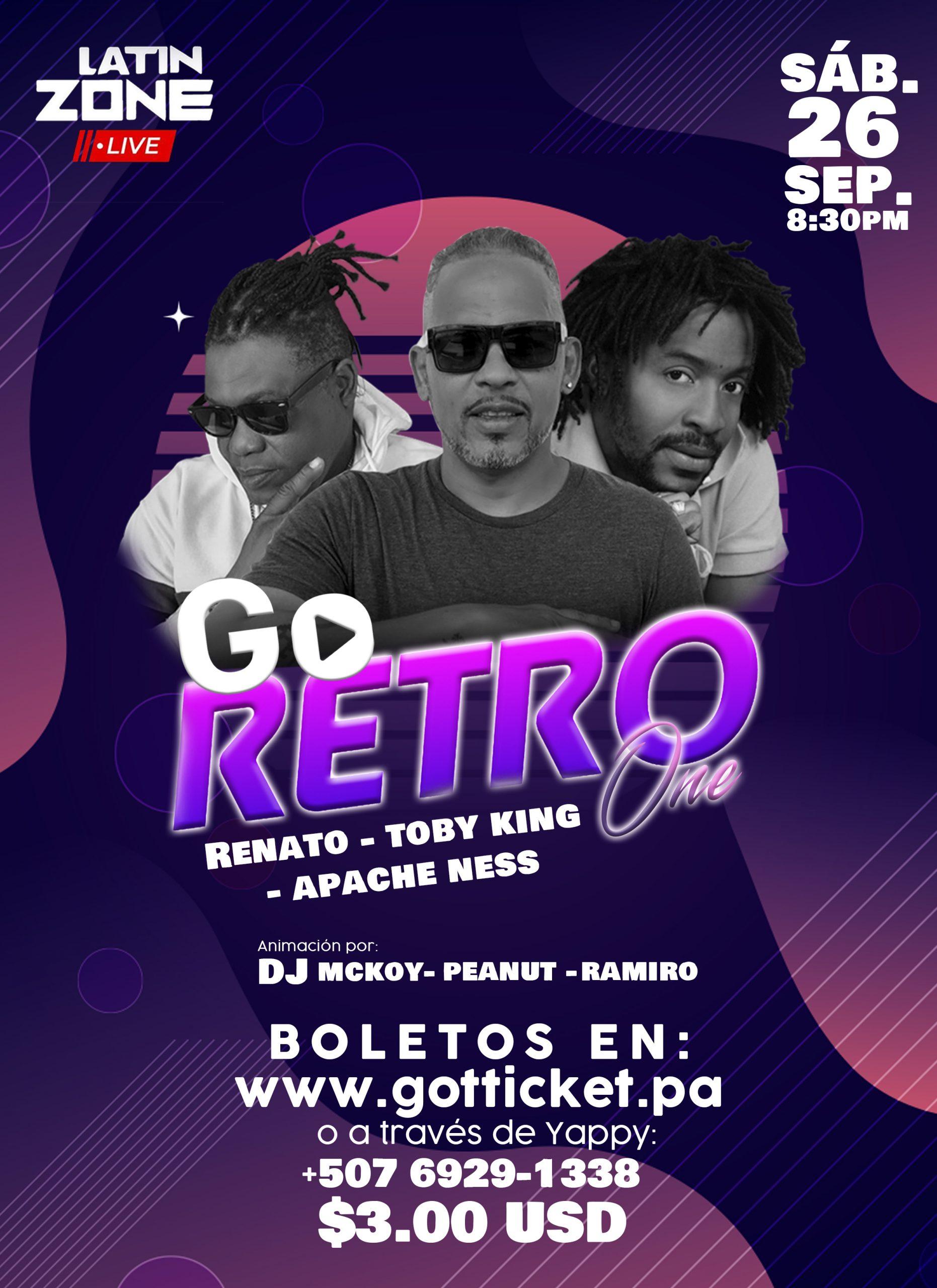 GO RETRO ONE LIVE